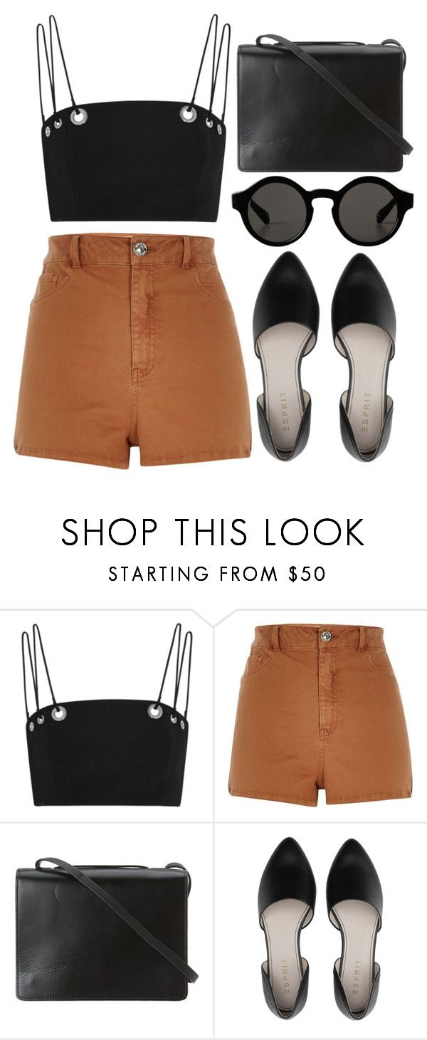 """""""phlake"""" by deep-serene ❤ liked on Polyvore featuring Thierry Mugler, River Island, BCBGMAXAZRIA and Monki"""