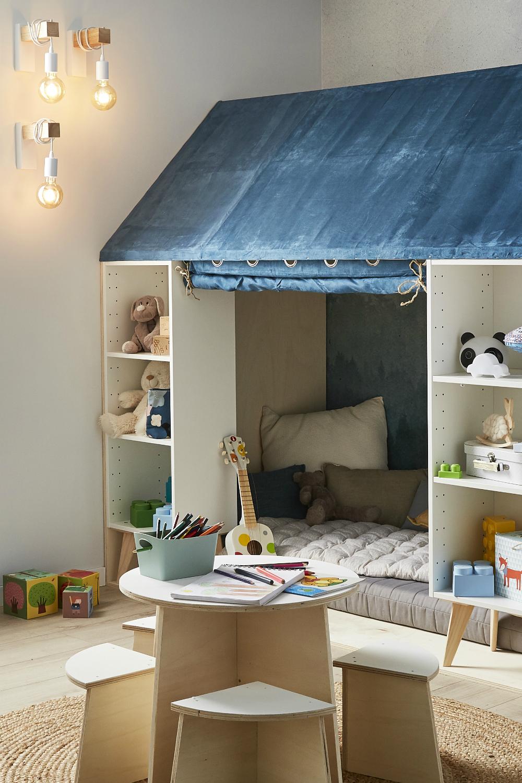 Leroy Merlin Chambre Enfant diy : fabriquer une cabane pour enfants en 2020 | chambre