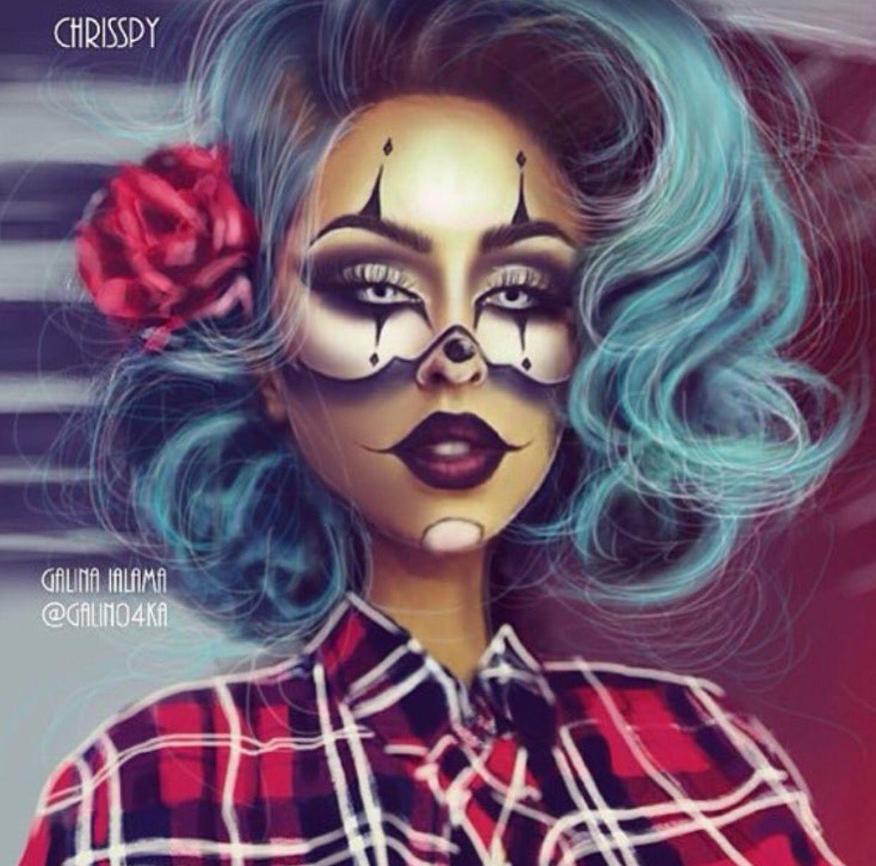 gangsta clown@crisspy  be inspirational ❥ mz. manerz: being