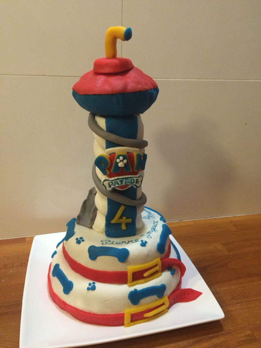 Gâteau Pat Patrouille Cake Design Mes Créations En 2018