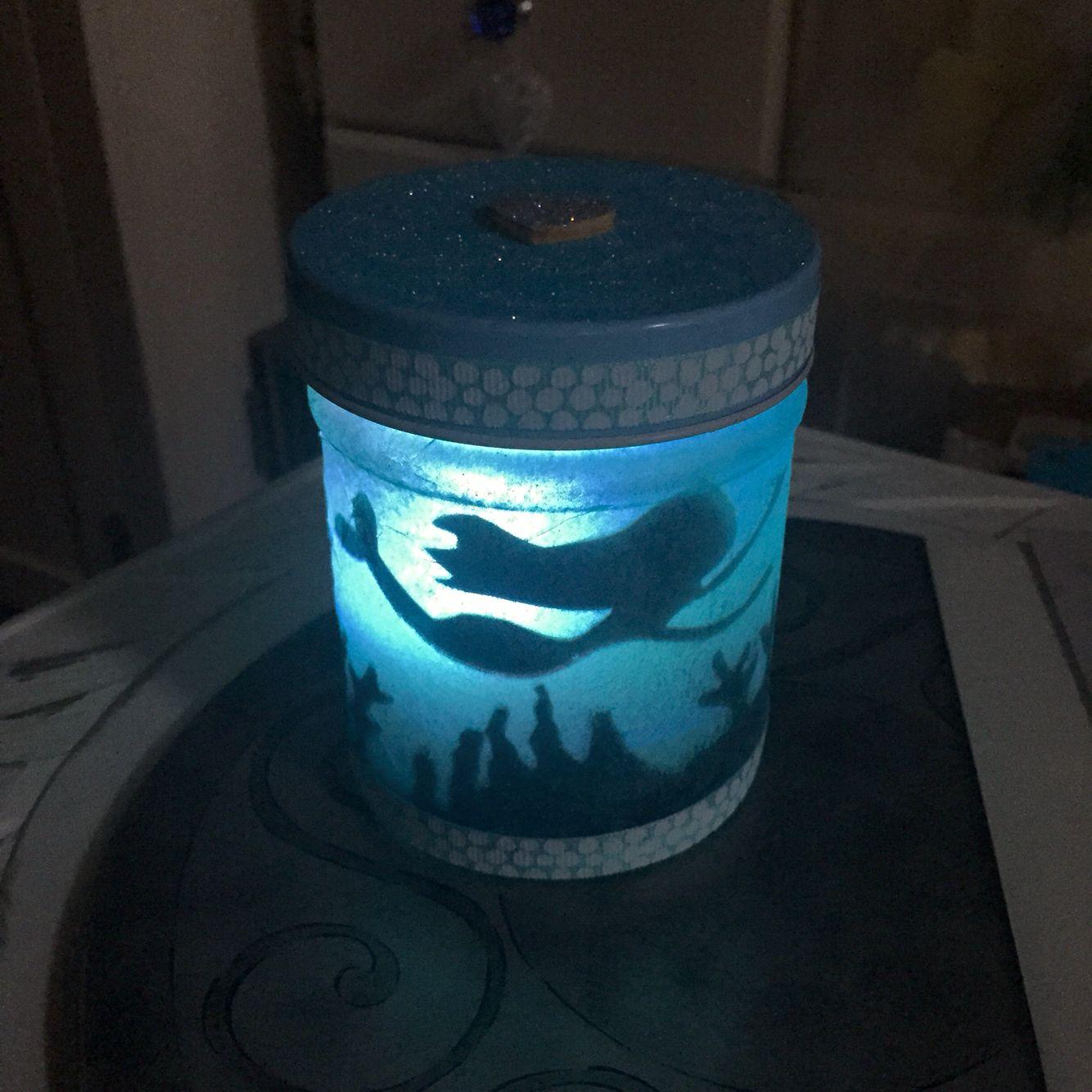 Colour Changing Diy Craft Mermaid Under The Sea Ocean