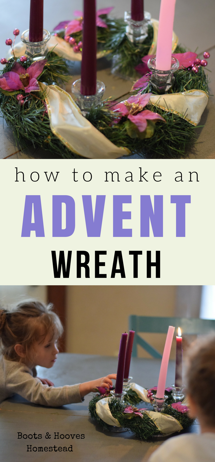 Simple Advent Wreath DIY (With images) Advent wreath diy