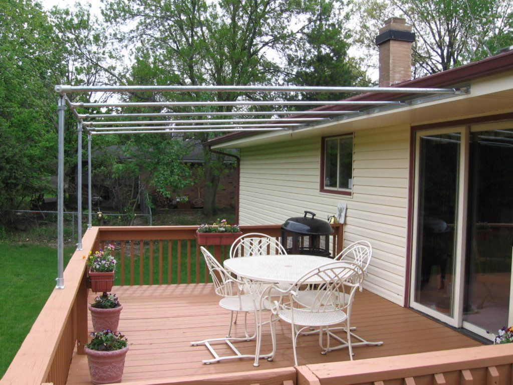 Frame Canopy Cover Off 4 In 2019 Deck Canopy Canopy