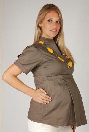 Resultado de imagen para blusas para embarazadas