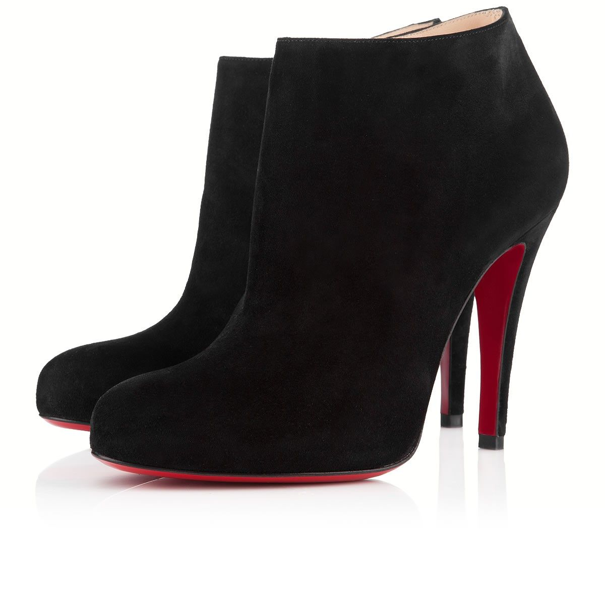 louboutin bottines bleues