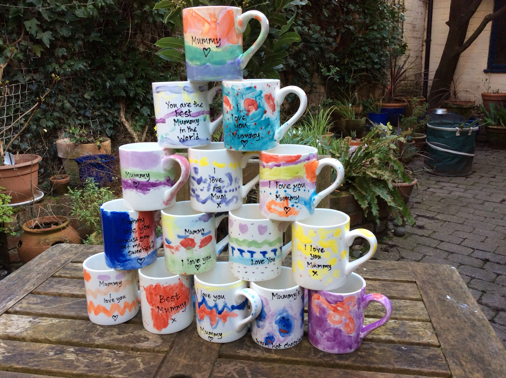 Mothers Day Mugs from a Rainbow Group