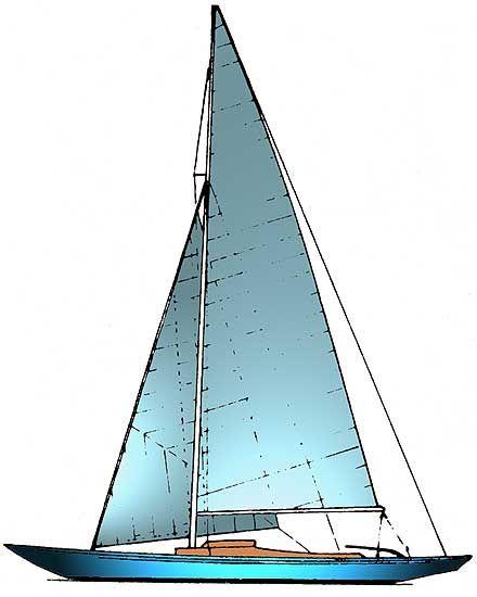 Un monotype international dragon mod lisme bateaux voilier bateaux et voile classique - Voilier dessin ...