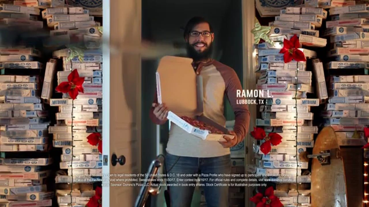 Dominos pizza superfans tv commercial ad advert 2016