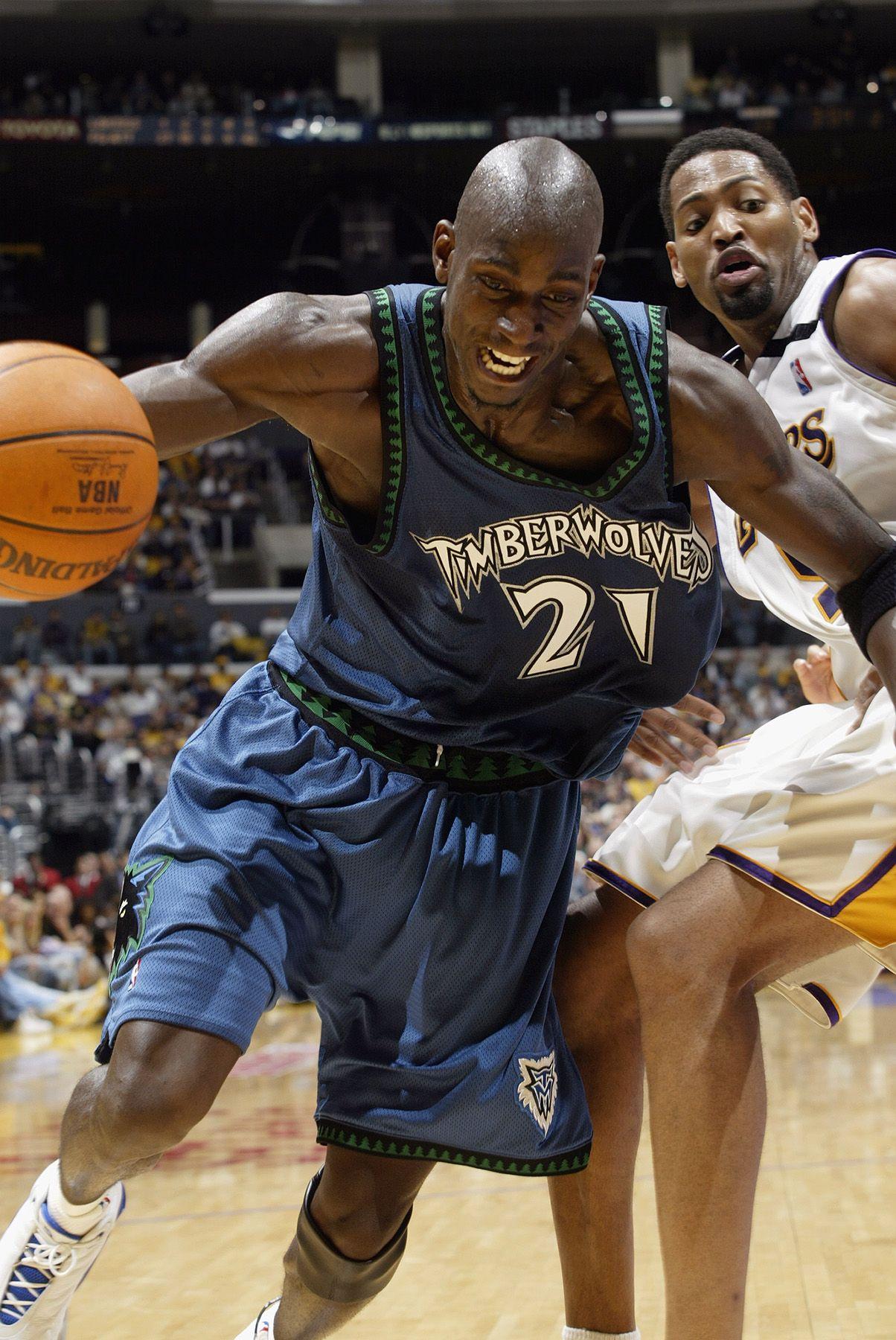 Kevin Garnett Minnesota Timberwolves Robert Horry Los Angeles