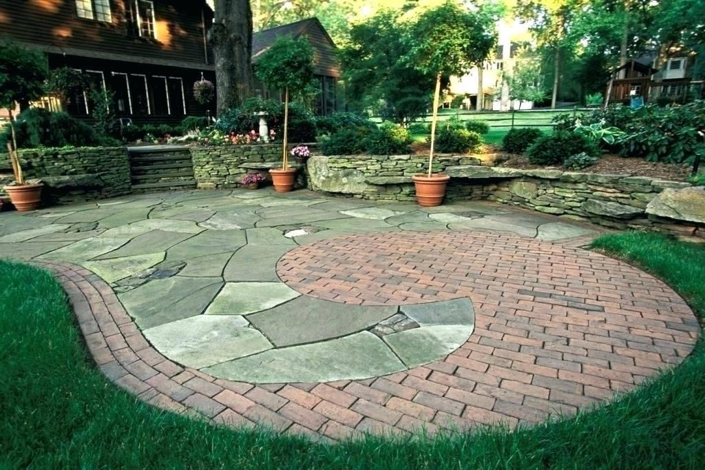 wow check out this awesome stamped concrete walkway what on wow awesome backyard patio designs ideas for copy id=49194