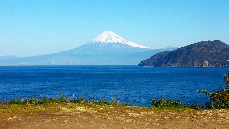 Mt.Fuji from Westcoast Izu