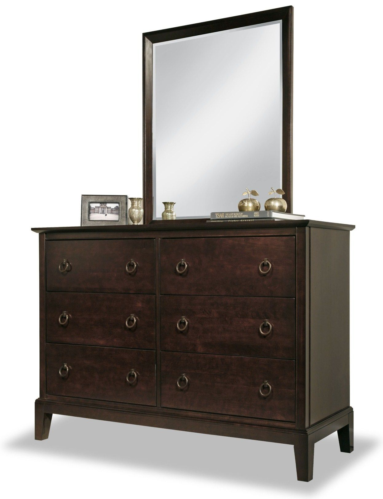 Made In Canada Durham Furniture Eastpointe Collection Solid Cherry Wood And Maple Double