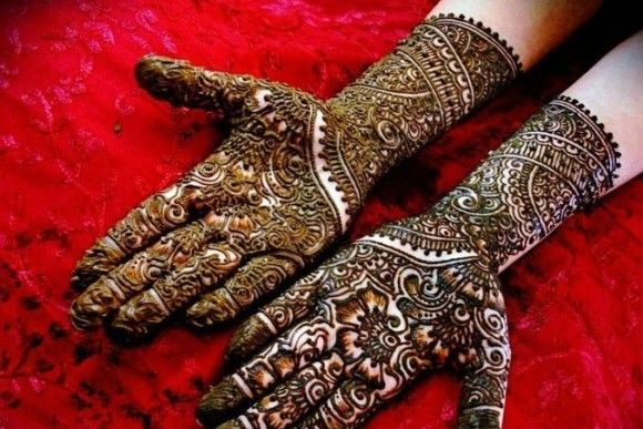 Mehndi Bridal Design Latest : Beautiful dulhan mehandi designs bridal mehendi metromela