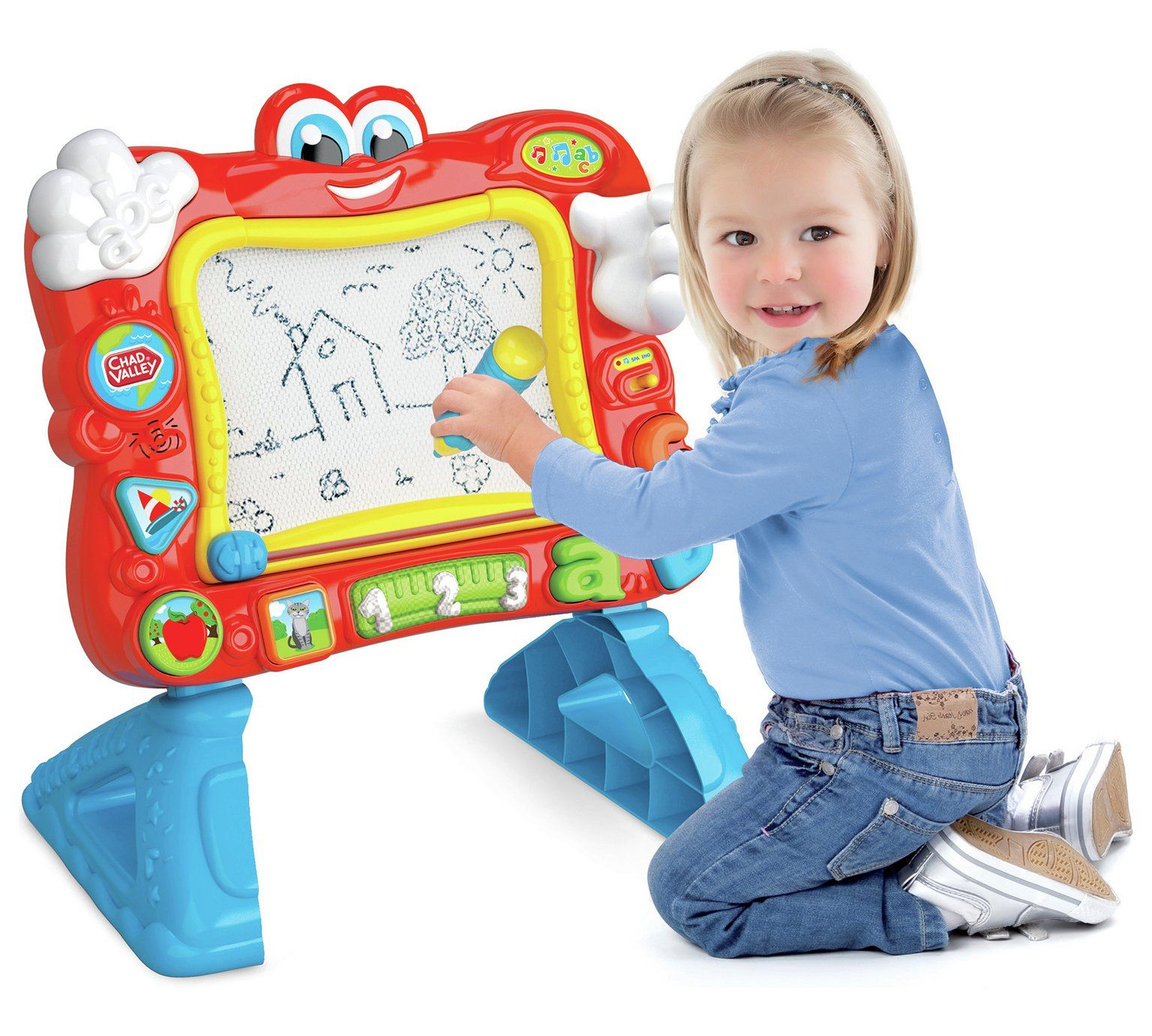 Buy Chad Valley PlaySmart Interactive Magnetic Easel at Argos
