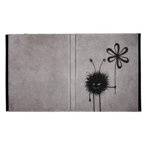 Evil Flower Bug Vintage iPad Cases