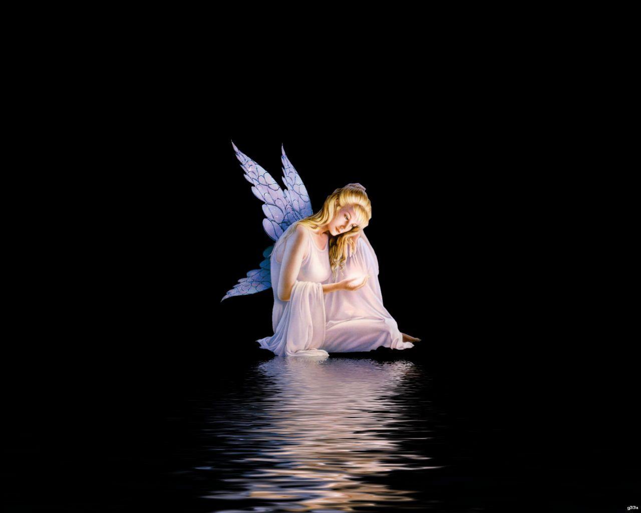 Lovely Angel Wallpaper Fairy Wallpaper Dark Angel Wallpaper