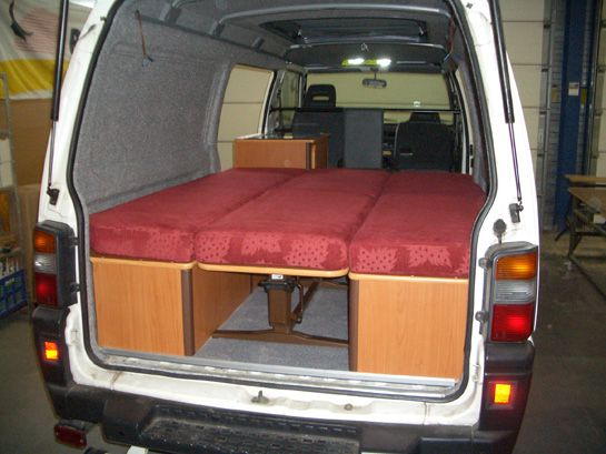 Image Result For Making A Bed Frame L300 Delica