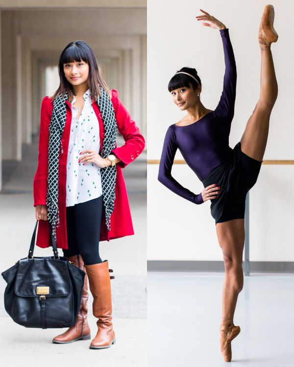 c3b5eba9ce14 National Ballet of Canada Tina Pereira- She has her own line of dancewear!