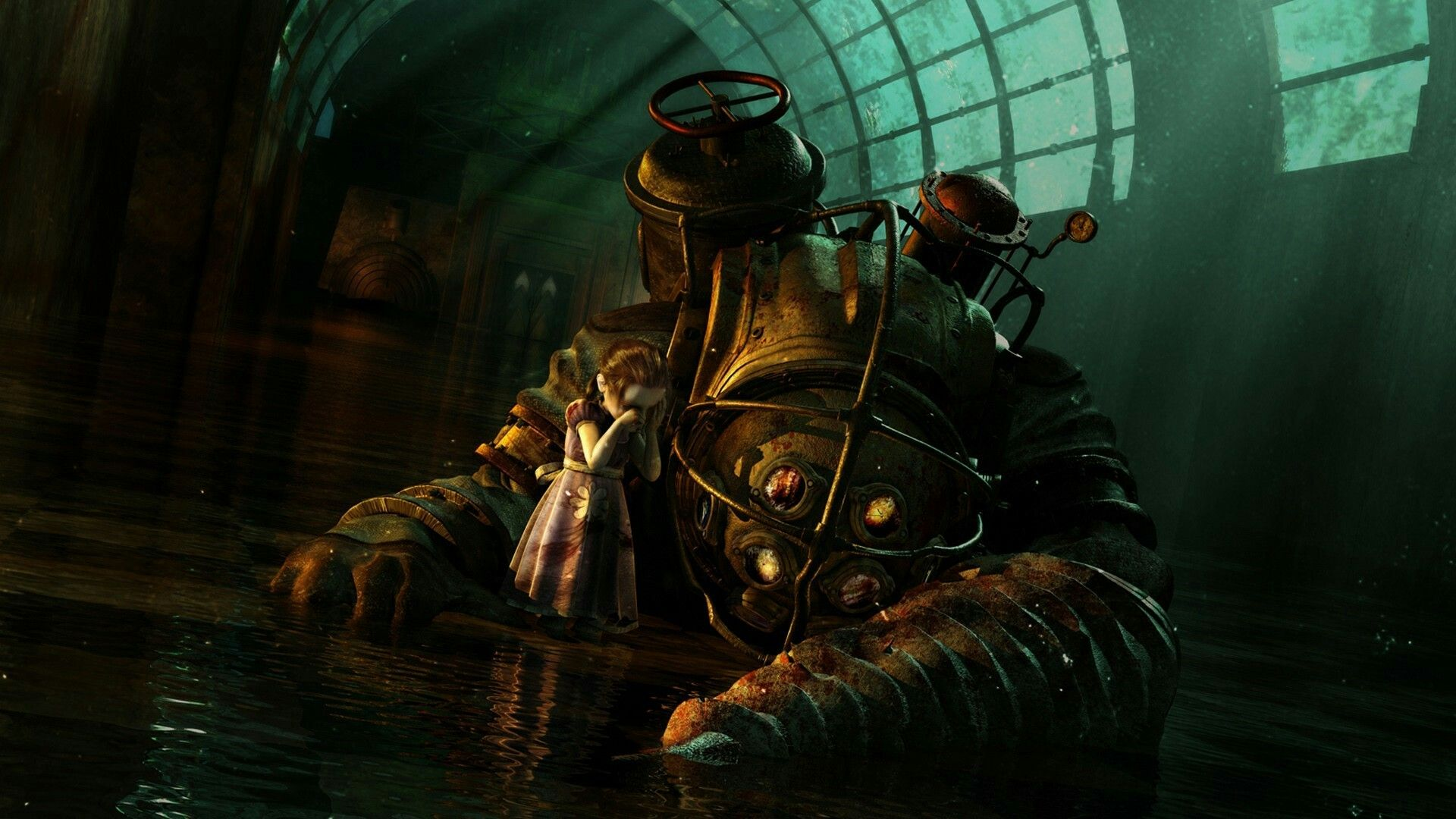 Page New IPad Air Mini Retina Bioshock Wallpapers
