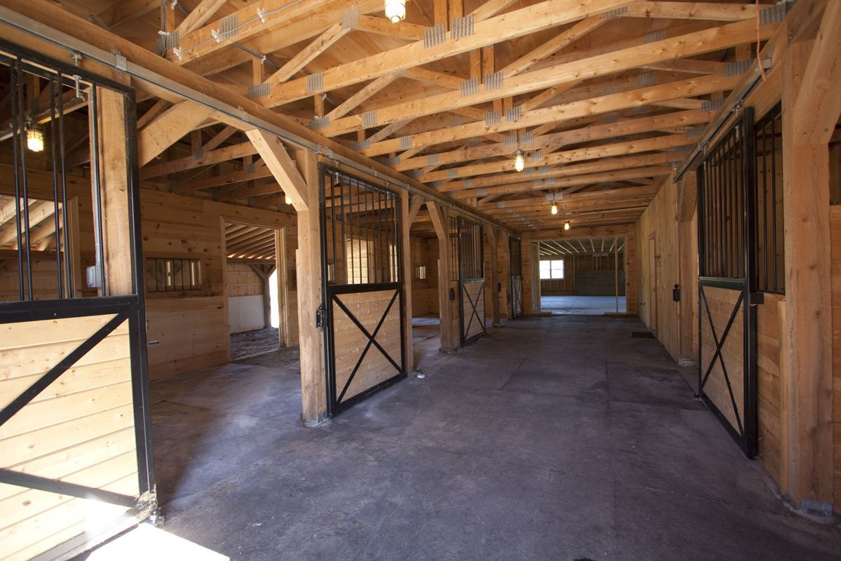 Horse Stables And Barns : Horse barn stalls pinterest
