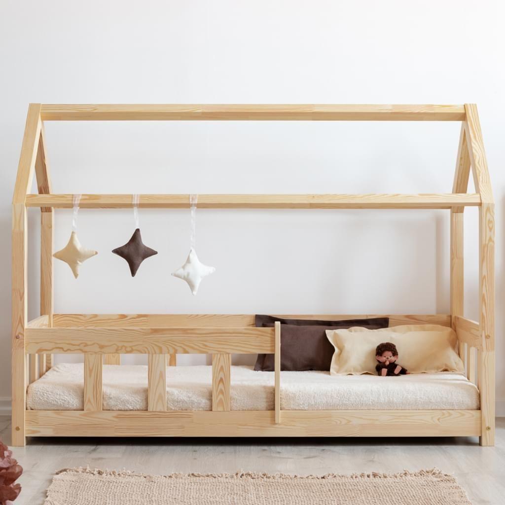 Selsey Kinderbett Mallory Hausbett Mit Rausfallschutz Aus Kiefernholz 90x200 Cm Betten Fur Kinder Kleinkinderbett Kinder Bett