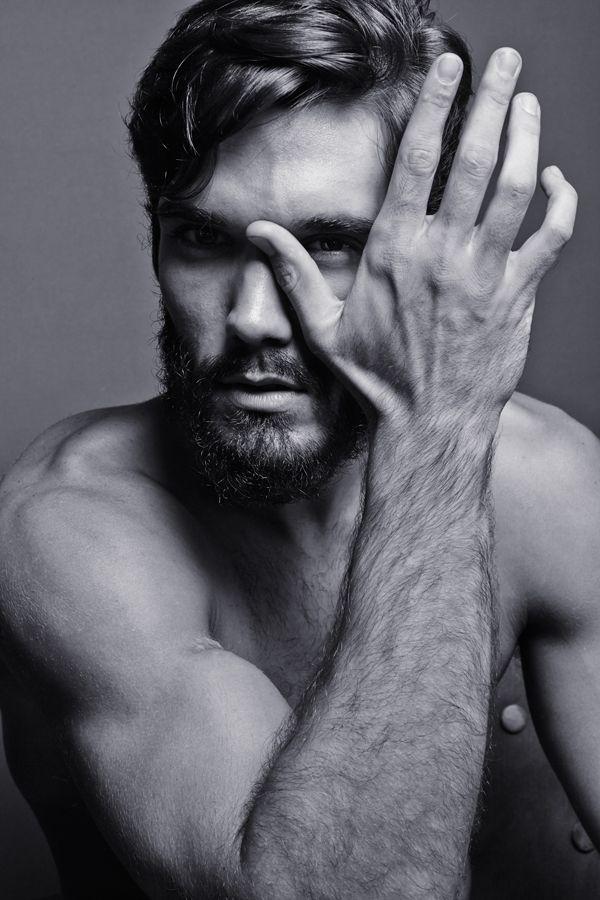 Topless portrait men 6