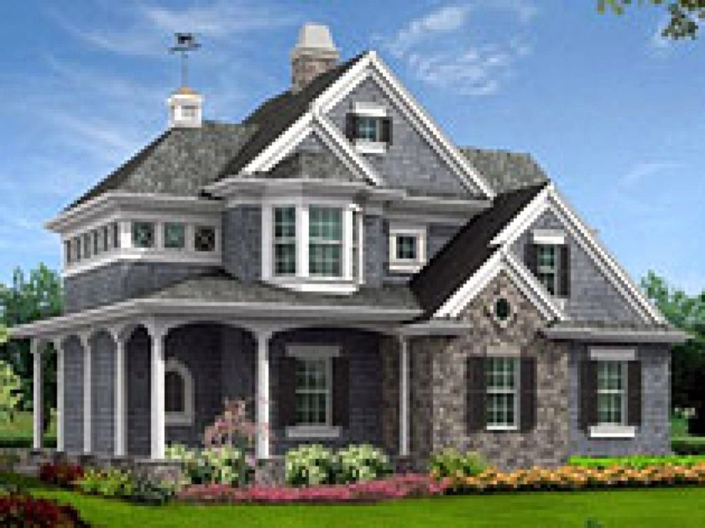 16 New England Cottage House Plans in 2020 Victorian