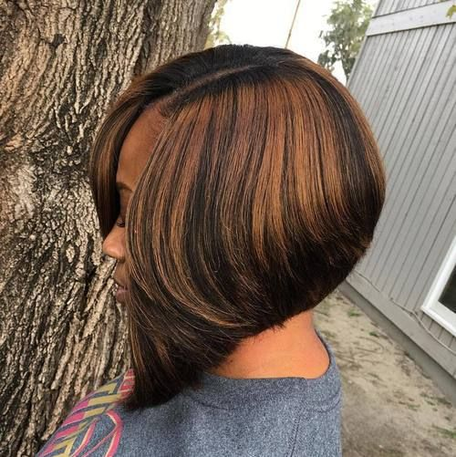 60 Showiest Bob Haircuts For Black Women Bob Hairstyles Hair Styles Short Weave Hairstyles