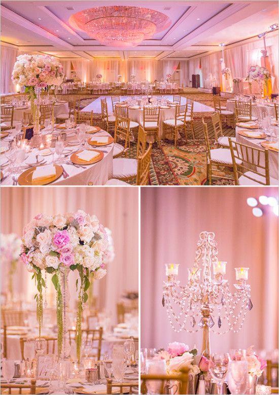 Fairmont Newport Beach Dream Wedding | Pink, white ...