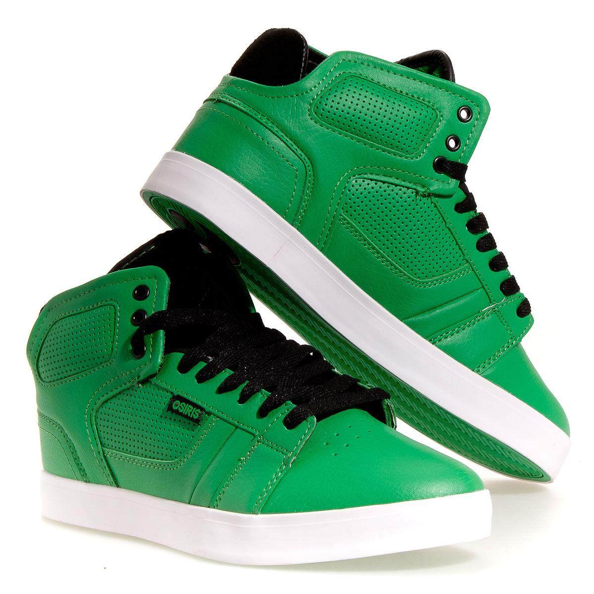 Skate shoes price - Osiris Effect Hi Men S Skate Shoes Green 13