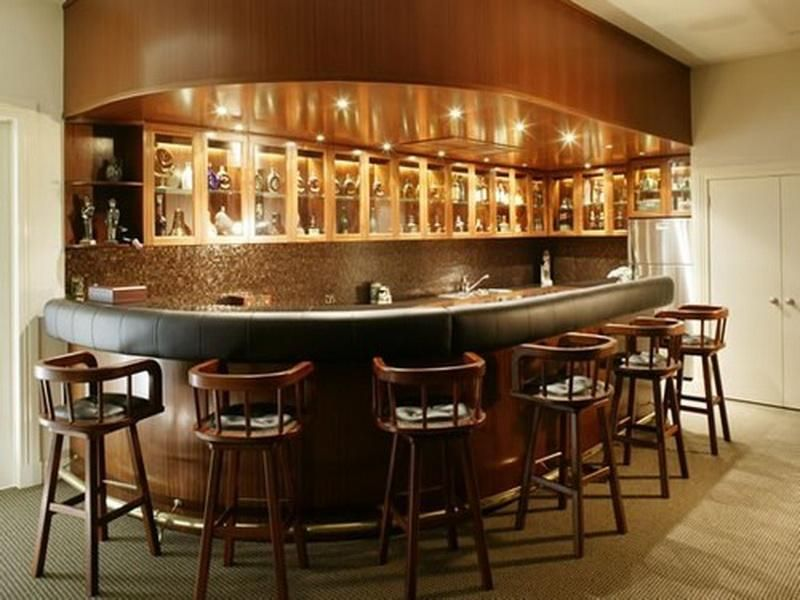 How To Choose Home Bar Sets Curved Table Design | Home Bar