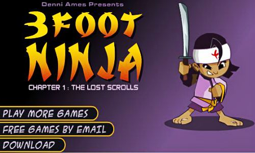 http://downloadclub.me/3-foot-ninja/.. 3 Foot Ninja.. Battle it out one on one against other samurai ninjas as they get harder use your power attacks.. http://goo.gl/FOvlqd