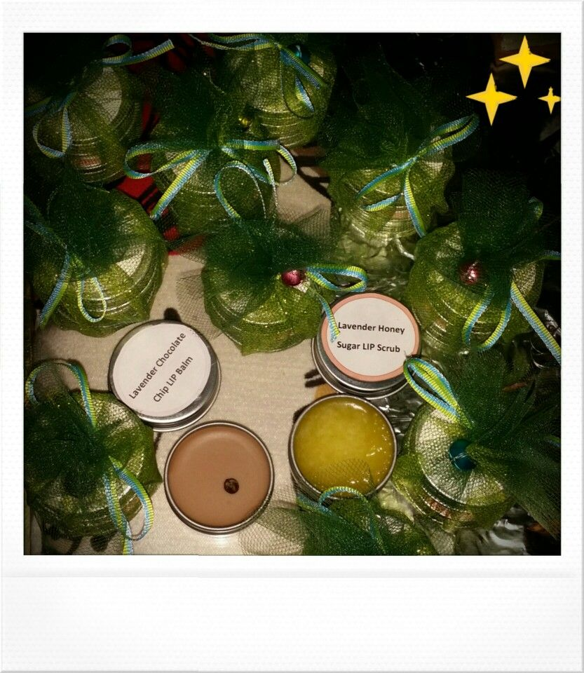 Homemade lip scrub and lip balm Christmas gifts for all ...
