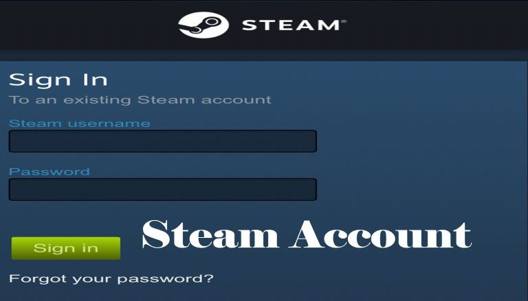 Steam Account Steam Sign Up Accounting Steam Signup