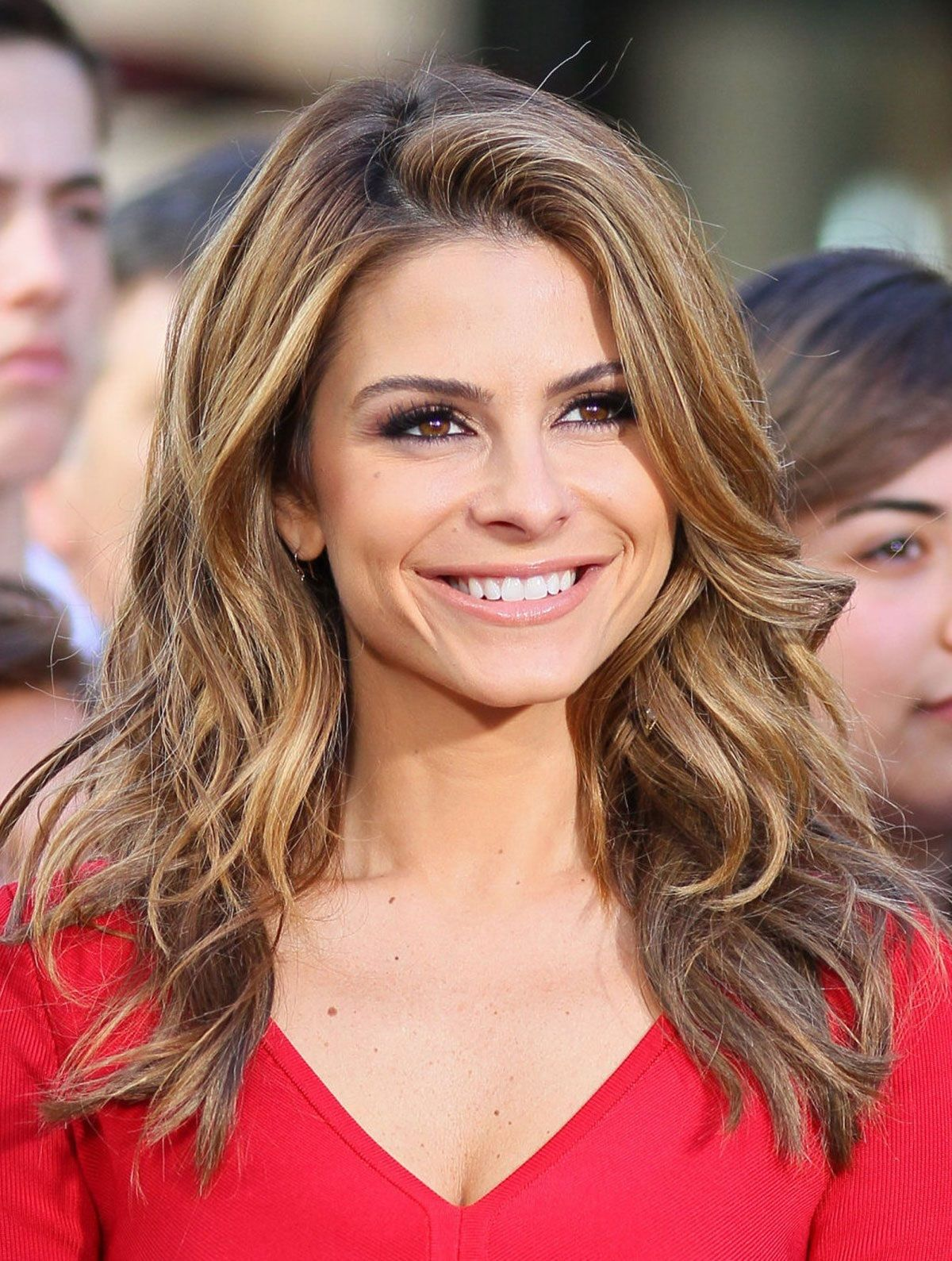 maria menounos from e! news look of the day | e! online | hair