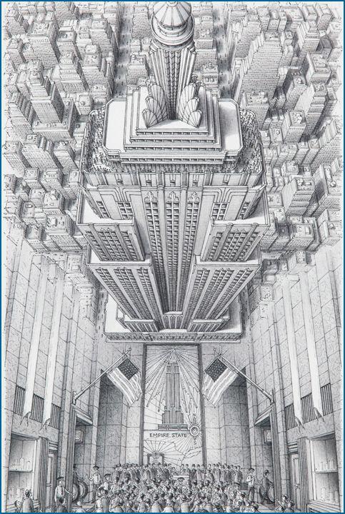 The Empire State Building.  Empire Statefilm-> https://en.wikipedia.org/wiki/Empire_State_(2013_film)
