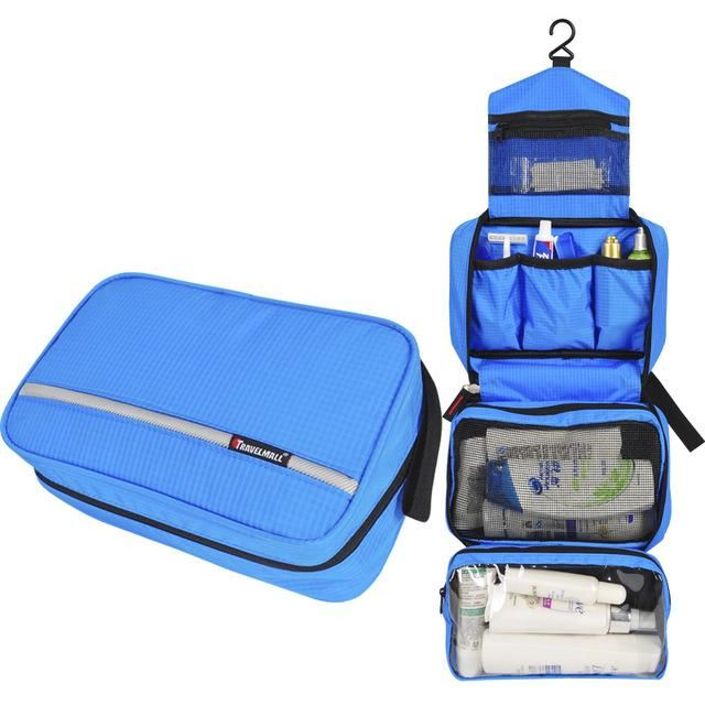8d43ca355c Travel Cosmetic Bag Men Wash Shaving Bag Waterproof Women toiletry Storage  Large Capacity Vanity organizer toilet bag makeup kit