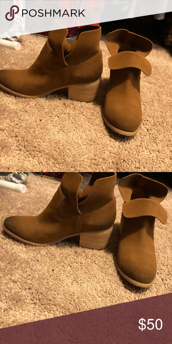9044e104741 BP camel colored suede boots Like new. Can be worn up or down. bp ...