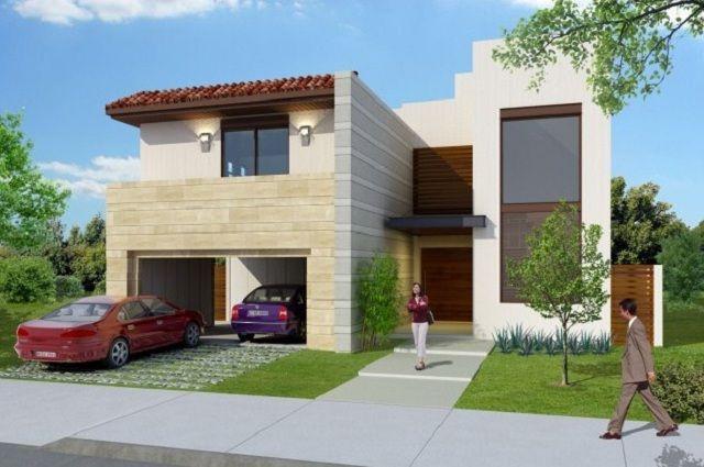 Colores para fachadas de casas modernas fachadas for Colores de techos de casas