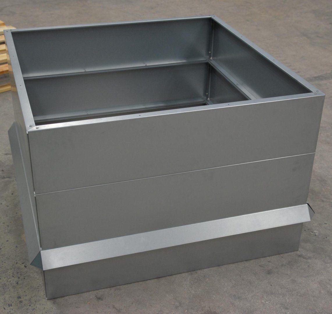 Hochbeet Metall Mit Schneckenzaun Metall 1mx1m 68 Cm Hoch Giardino