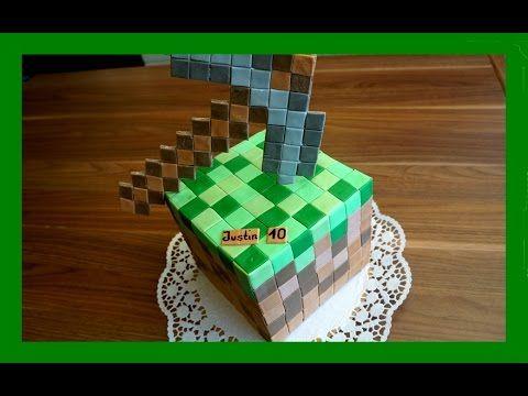 Minecraft Kuchen Minecraft Torte Im Minecraft Stil Tutorial