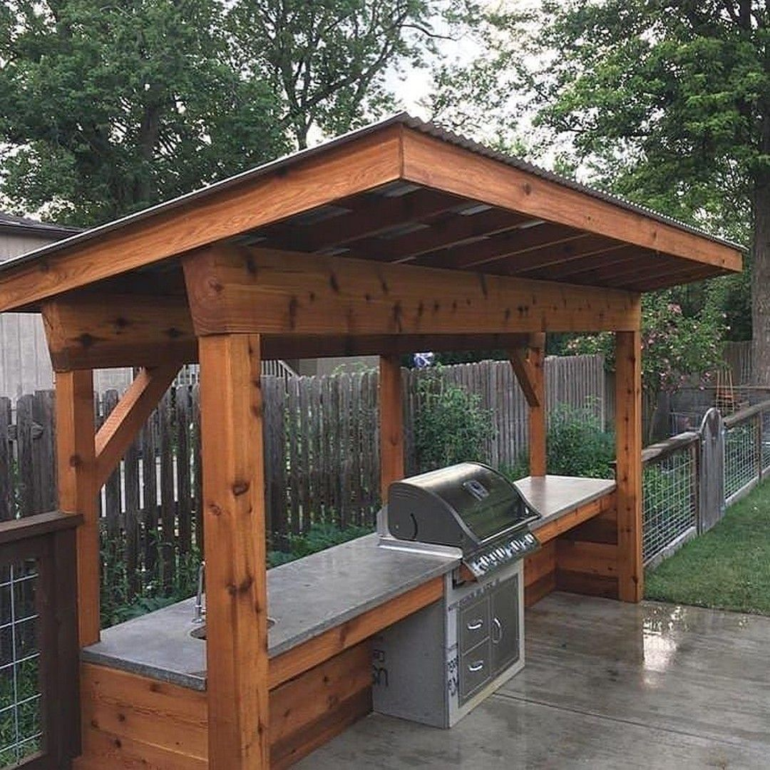 26 diy outdoor grill stations kitchens outdoor grill