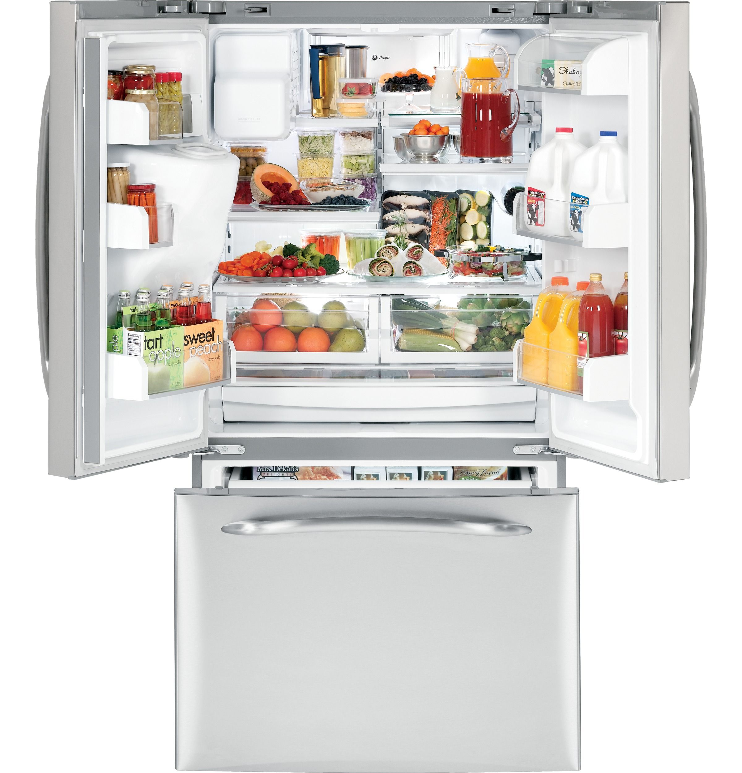 Pfss9skyss Ge Profile Energy Star 28 5 Cu Ft French Door Refrigerator Ge Appliances Ne French Door Refrigerator Refrigerator Newly Remodeled Kitchens