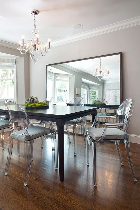 Lisa Gutow Design | Russian Hill. Ghost Chair, Dining Room