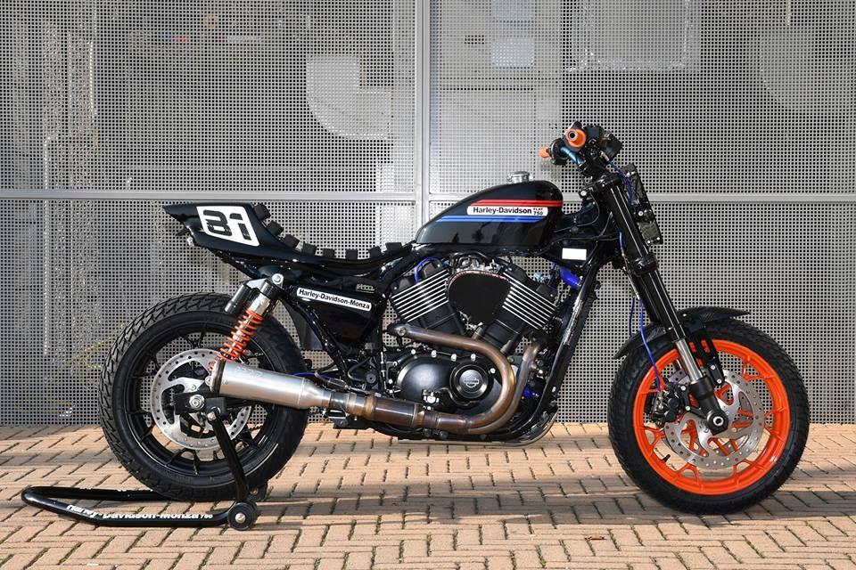 Harley Flat Track >> Pin Su Harley Davidson Monza