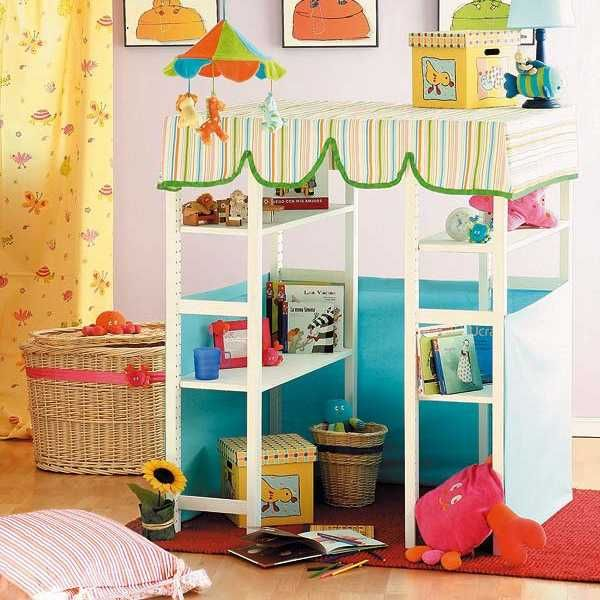 Captivating DIY Storage Solutions For KIds Rooms