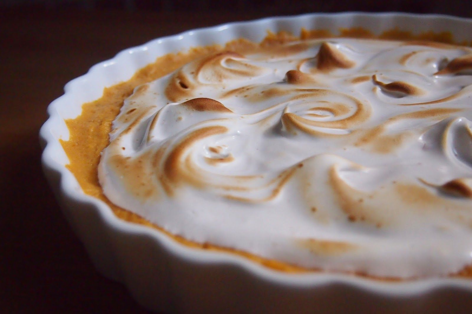 Whipped Sweet Potatoes with Maple Meringue