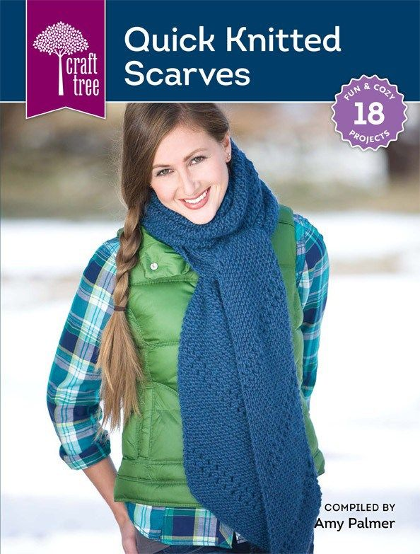 Review: Quick Knitted Scarves