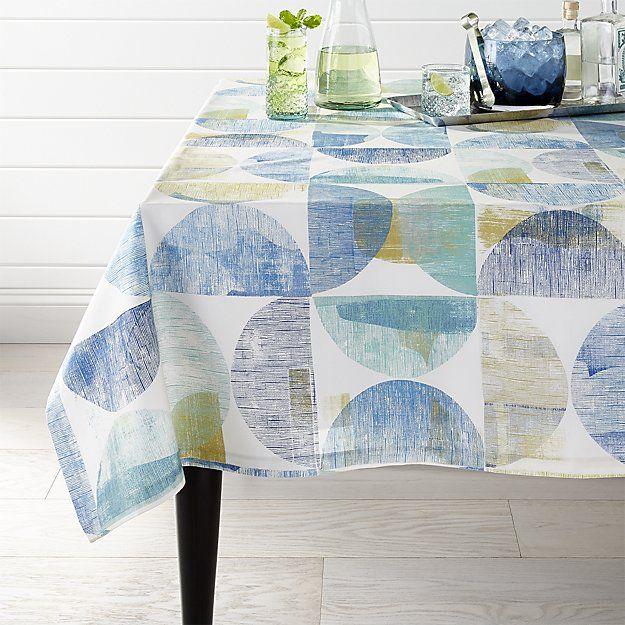 Arc 60 X120 Tablecloth Crate And Barrel Table Cloth Barrel