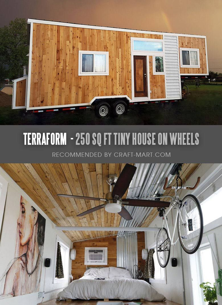 17 Best Custom Tiny House Trailers and Kits with Plans for